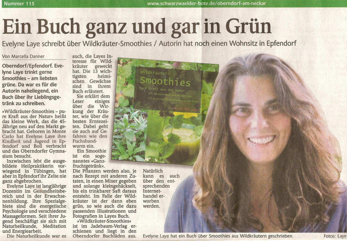 Go Green mit Wildkräuter-Smoothies